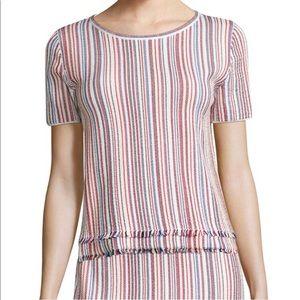 Hugo BOSS Woman's Fina Striped Knit Top